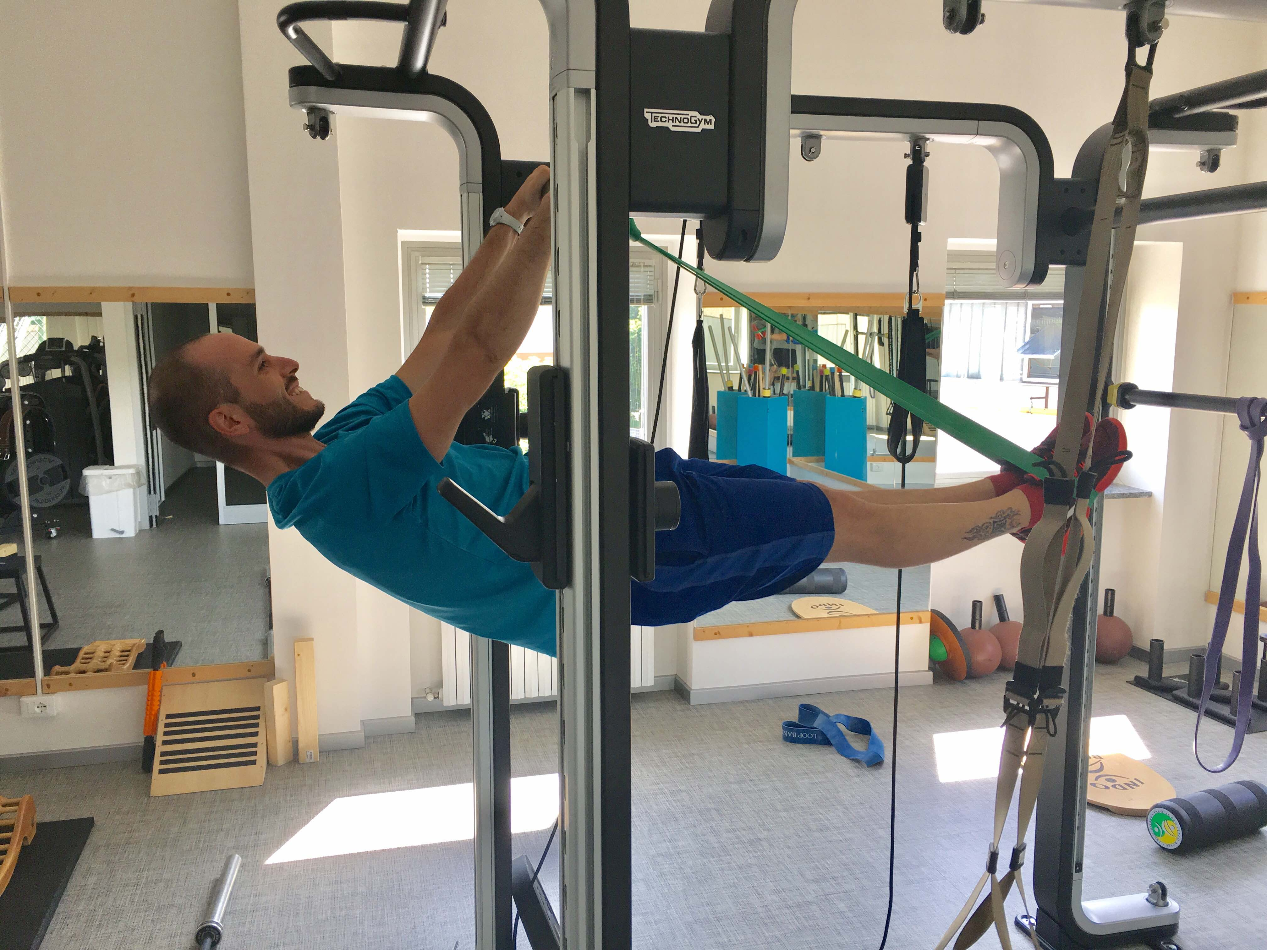 front lever loop bands